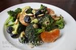 Broccoli Salad with Avocado Citrus Dressing