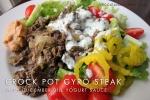 Crock Pot Gyro Steak