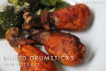 Baked Drumstick with Hot Sauce