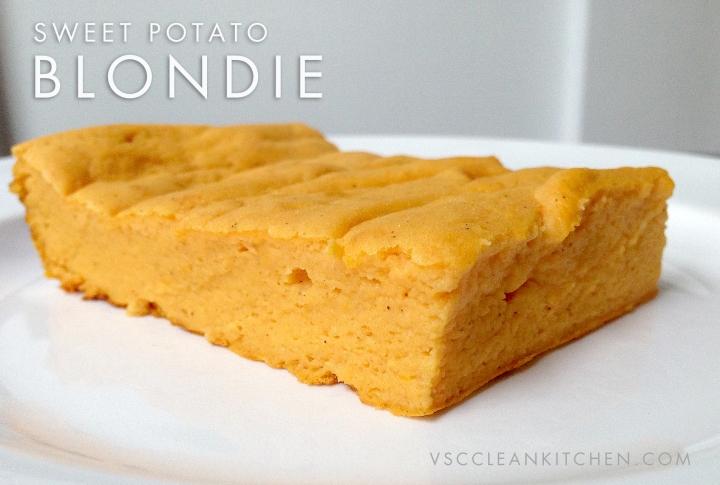 Sweet Potato Blondie