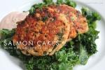 Salmon Cakes and Dill Yogurt Sauce