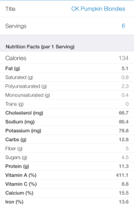 CkPumpkinBlondies_nutritionfacts